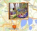 Где находятся детские лагеря в Челябинске?