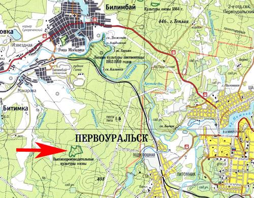 Новоуткинск Свердловской Области На Карте
