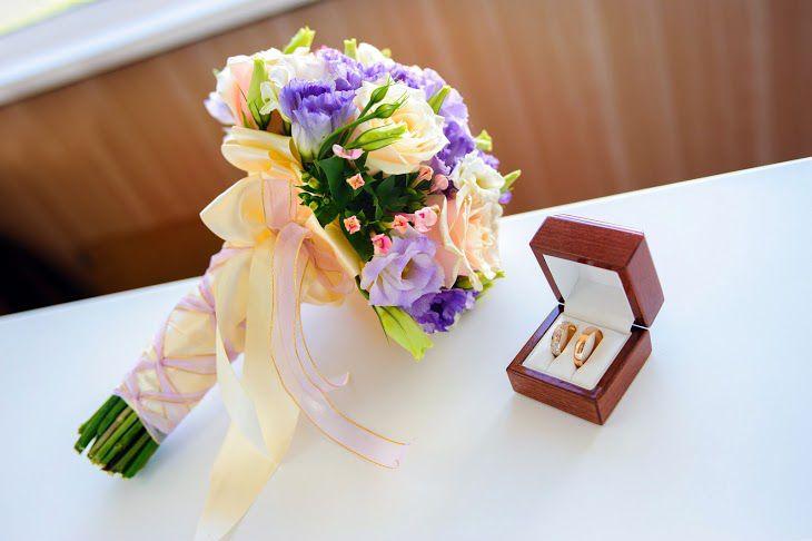 Купить свадебный букет для невесты в Челябинске